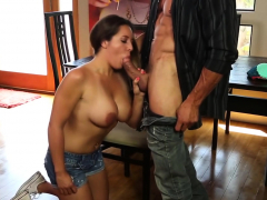 Busty Chick Plays With A Fat Dick Porn Video