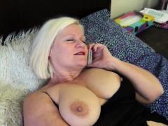 granny bound by lesbian HD