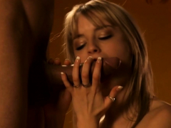 Blowjob Lessons For Stunning Blonde Milf