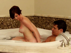 Nina And Andres Engage In Sex At Jacuzzi