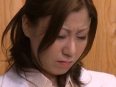 Horny Busty Chihiro Akino Gets Tough Experience
