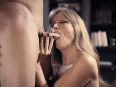 milf-proves-company-loyalty-by-fucking-with-her-boss