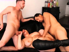 BBW Gets Fucked Hard By Her Two Brothers
