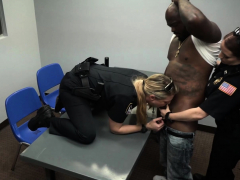 Car thief is contrived by horny milf cop