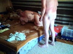 hot-blonde-rides-her-dildo-doggystyle-on-webcam