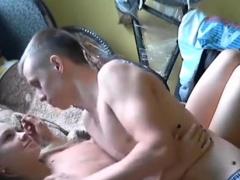 Toronto Teen Couple - Fucking in College Dorm