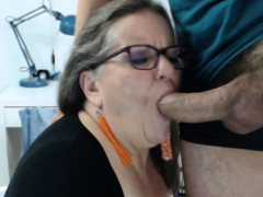 european milf tries a tiny vibrator on her cunt