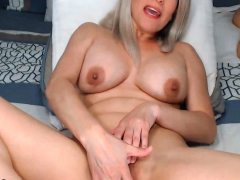 hot-blonde-spreading-her-neatly-shaved-pussy
