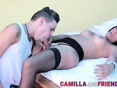 tgirl-in-stockings-gets-dick-sucked