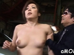 dishy-eastern-mature-gal-mirei-yokoyama-rides-meat-member