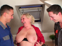 very-old-busty-granny-pleases-two-men