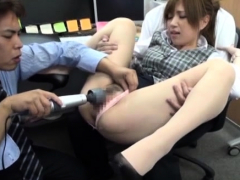 Sexy sex for a sexy office luscious bitch