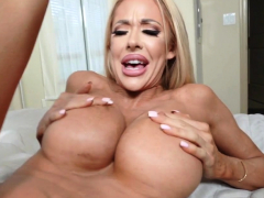 sexy blonde cougar plowed