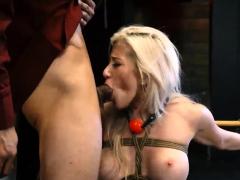 Bdsm bondage fuck machine and extreme female ejaculation