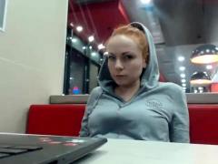 zoey redhead amateur solo slut Striptease