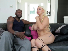 Mischievous Busty Blonde Beauty Nina Kayy Getting Fucked