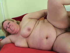 He Picks Up Fat Grandma For Sex Play