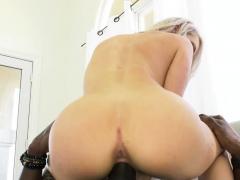 Busty Blonde Christina Shine Visits Her Boyfriend's Bbc