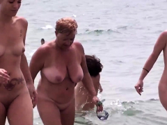 Sexy Latinas Nudist Beach Voyeur Mix-up Spy Video