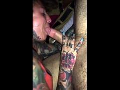 Hot Tattooed Swinger Couple