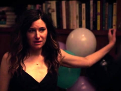 Kathryn Hahn and Katie Kershaw in a threesome sex scene