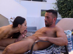 Dane Jones Sweet Russian brunette Lilu Moon takes big dick