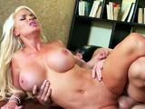 Boss Seduce Hot Big Tits MILF Secretary to Fuck in Office