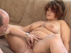 busty mature bbw bangs a stud on mature nl Hot