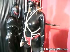 Two Kinky Slut Dress In Latex For Some Part2