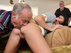 Trio mature amateur Riding the Old Wood!