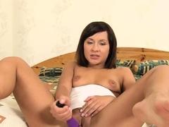 lusty-brunette-gertie-with-puffy-nipples-masturbates