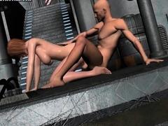 blonde-hentai-taking-bath-and-masturbate-in-t