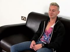 Stroking With New Guy Jamie