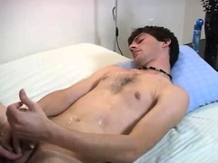 Straight dad goes gay porn and male pornstars cum first