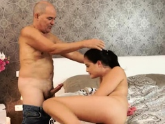 Teen fucks old man and dry humping daddy If you overlook