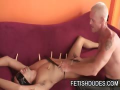 Fetish Master Hytch Cawke Punishing Handsome Dude Gabriel