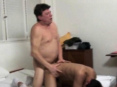 Daddy Having Fun With A Handsome Twink