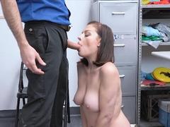 Curvy suburban wife ends up fucked hard