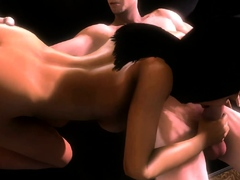 Hot Whores Sucks a Huge Dick - Hentai Compilation