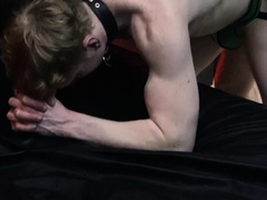 leather-muscle-man-logan-fucks-anonymous-ginger-guy-bare