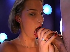 Filling their face holes with warm sperm excite wicked gals