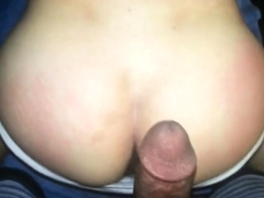 Asian Boy Shaking Ass for Black Daddy