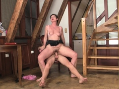 hairy-girlfriends-mom-sucks-and-rides-his-big-dick