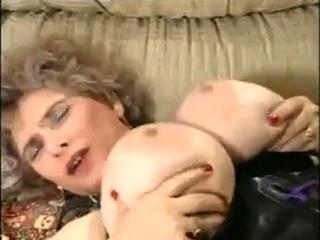 Riesige Brste Sexy alt reifen