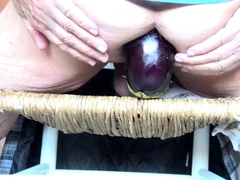 eggplant in my old ass