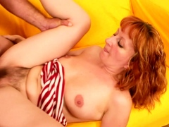 hairy ginger mature first time rough anal sex by step son