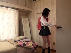 Asian japanese cosplay uniformed girl sex