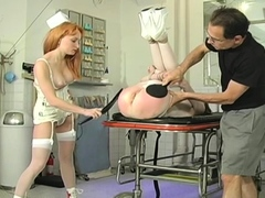 Sensual maiden is masturbating because she is very