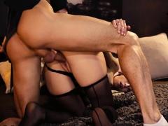 Dane Jones Romantic sex with hot Italian Silvia Soprano