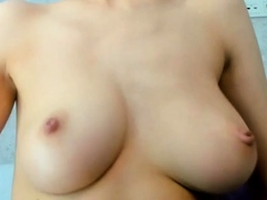 white woman will make you drool with her big tits